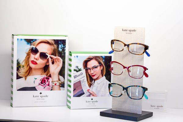 160eff0a4ad Eyeglass Basics. Kate Spade designer frames